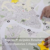 Informe Conversatorios Urbanos 2013 Valdivia